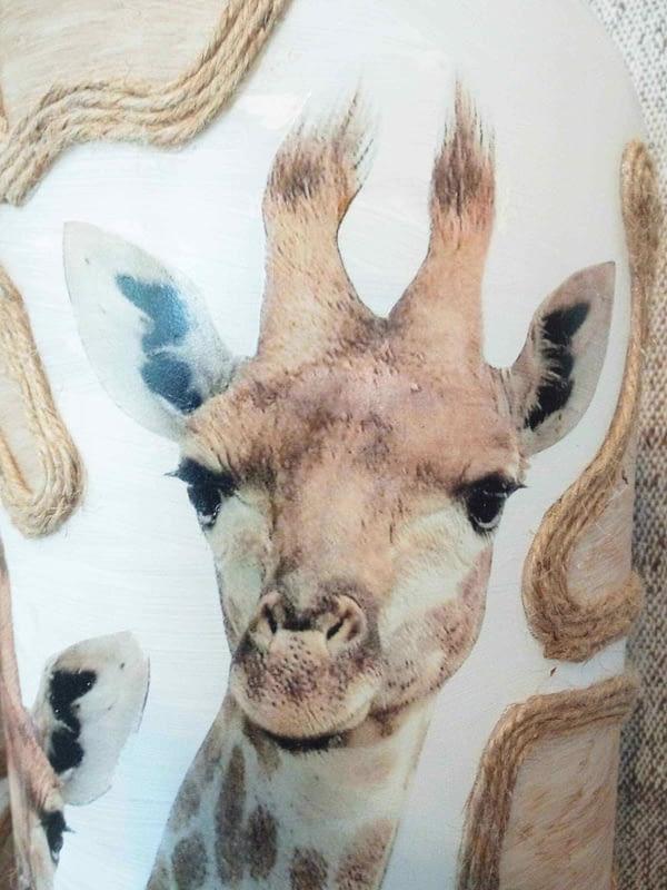 Nature - Vaas met giraffe