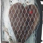 Captured heart Valentijnsbord