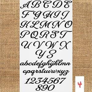 Lettertype 04