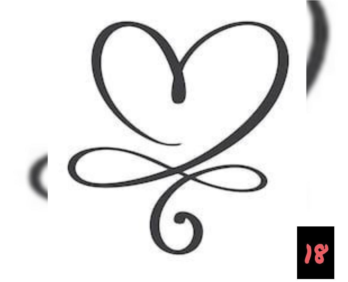 Teksten 18 - Heart design