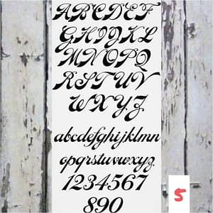 Lettertype 05