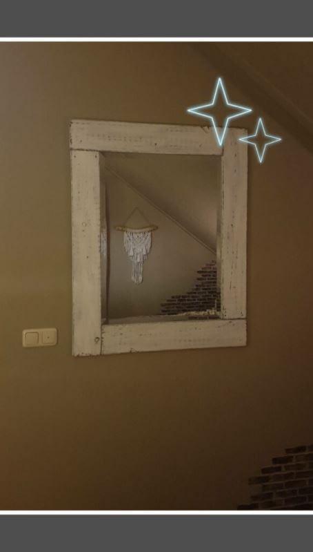 Gepimpte spiegel landelijke stijl