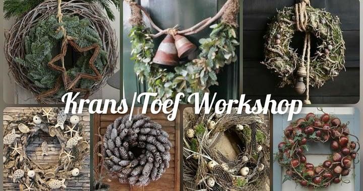 """Workshop - """"Krans-toef"""""""