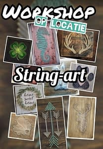 Creatieve workshop - String-art
