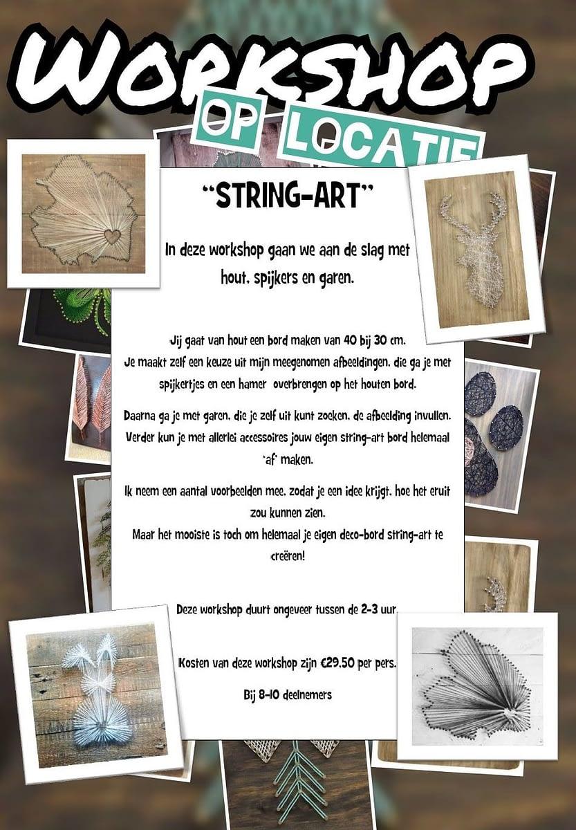 Creatieve workshop - String-art