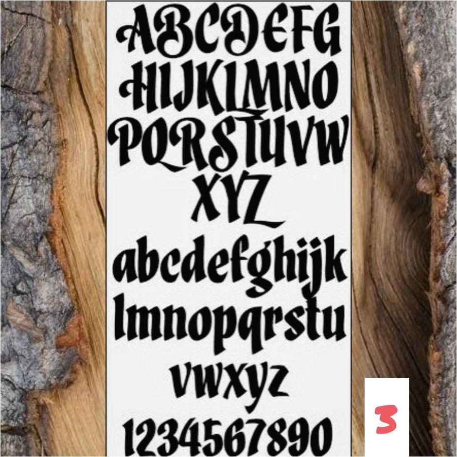 Lettertype 03