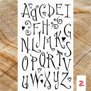 Lettertype 02