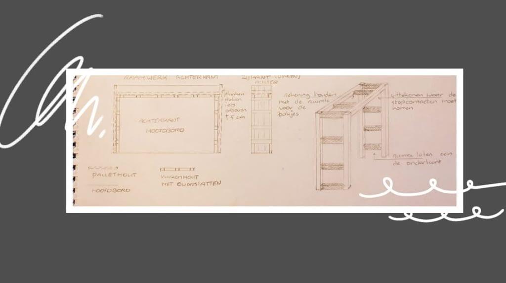 Detailontwerp - Slaapkamer - Bedombouw
