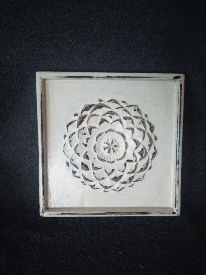 """Deco-bord - Drieluik """"Ornament"""""""
