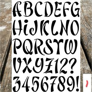 Lettertype 01