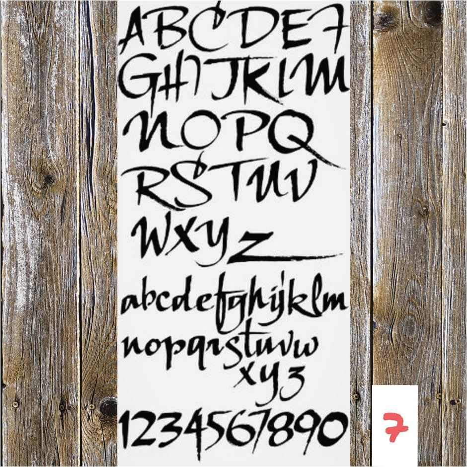 Lettertype 07