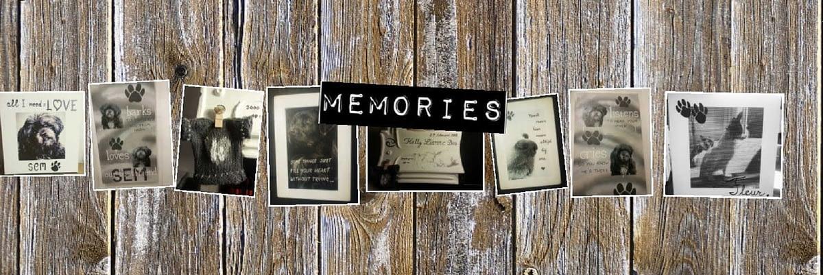 Herinneringen aan een speciaal iemand of gelegenheid