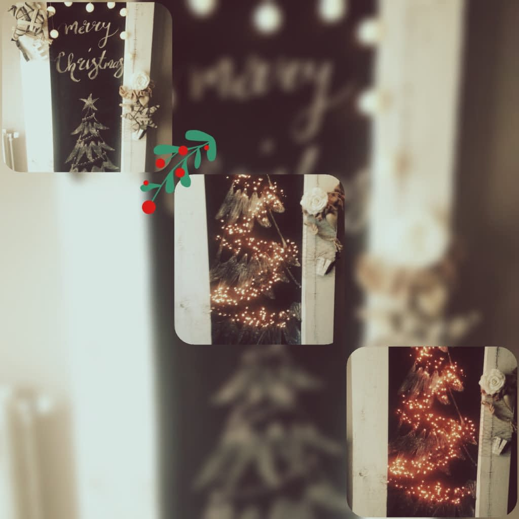 Pimpen hal - teksten - Kerst - krijttekst