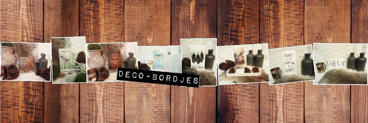 Slider Deco-bordjes